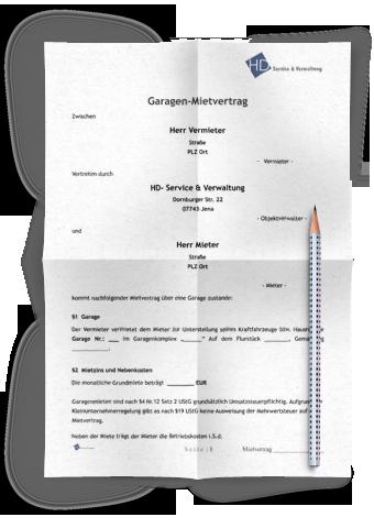 Mietvertrag Garage Rechtssicheres Muster Zum Download 2